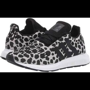 NWT adidas leopard sneakers